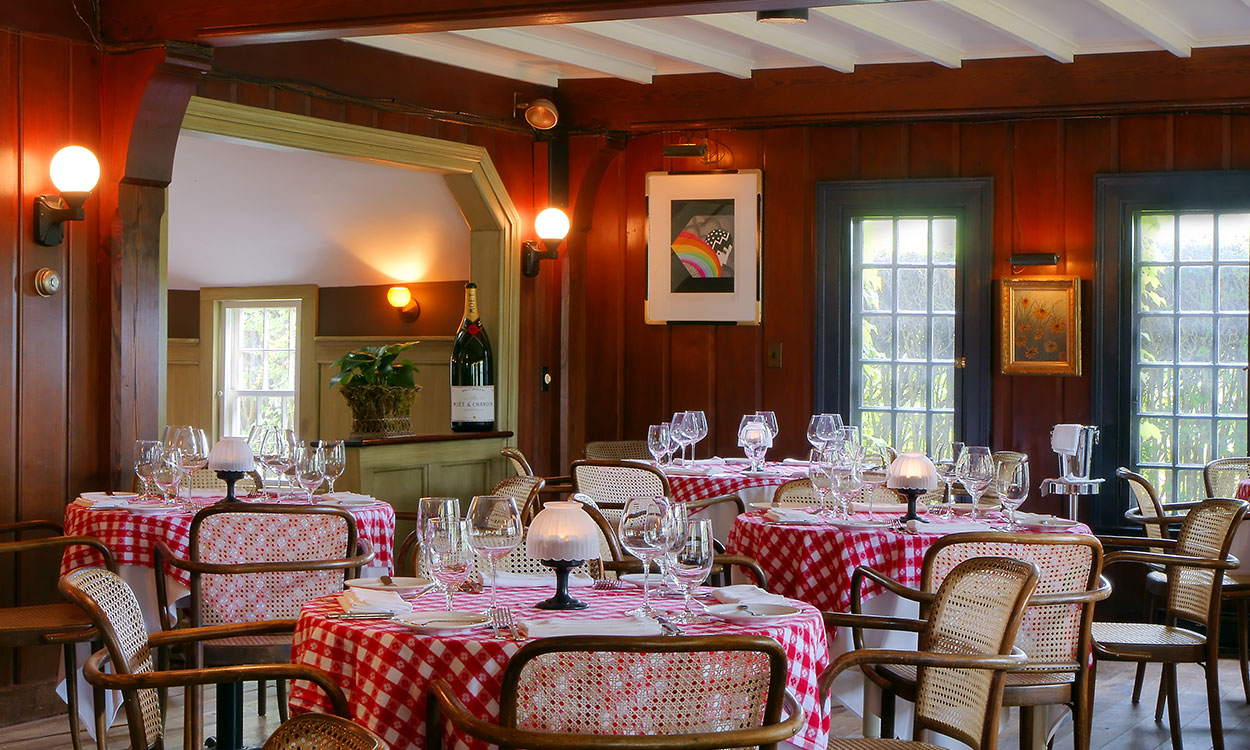 Nantucket restaurant the chanticleer in sconset ma for The chanticleer